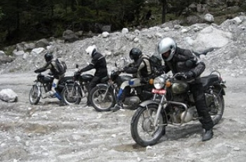 Sikkim-Nepal Motor bike
